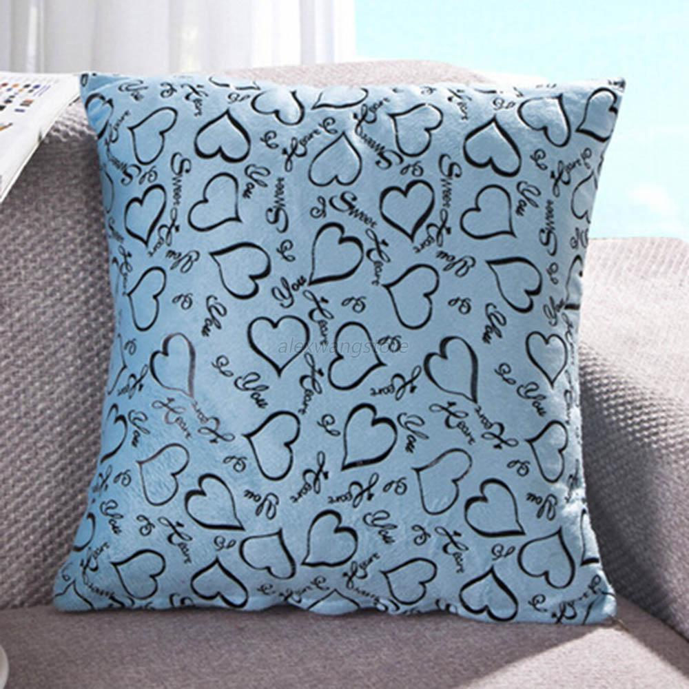 Best Heart Retro Throw Pillow Cases Home Bed Sofa Decorative This Month
