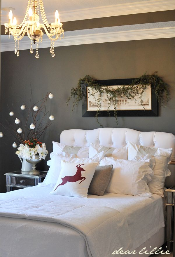 Best 30 Christmas Bedroom Decorations Ideas This Month