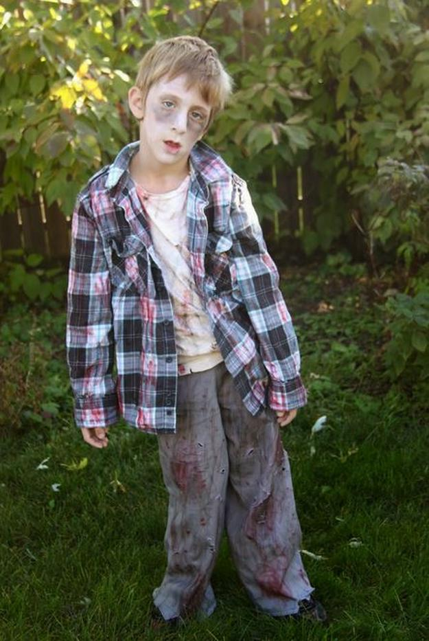Best 18 Diy Zombie Costume Ideas Diy Ready This Month