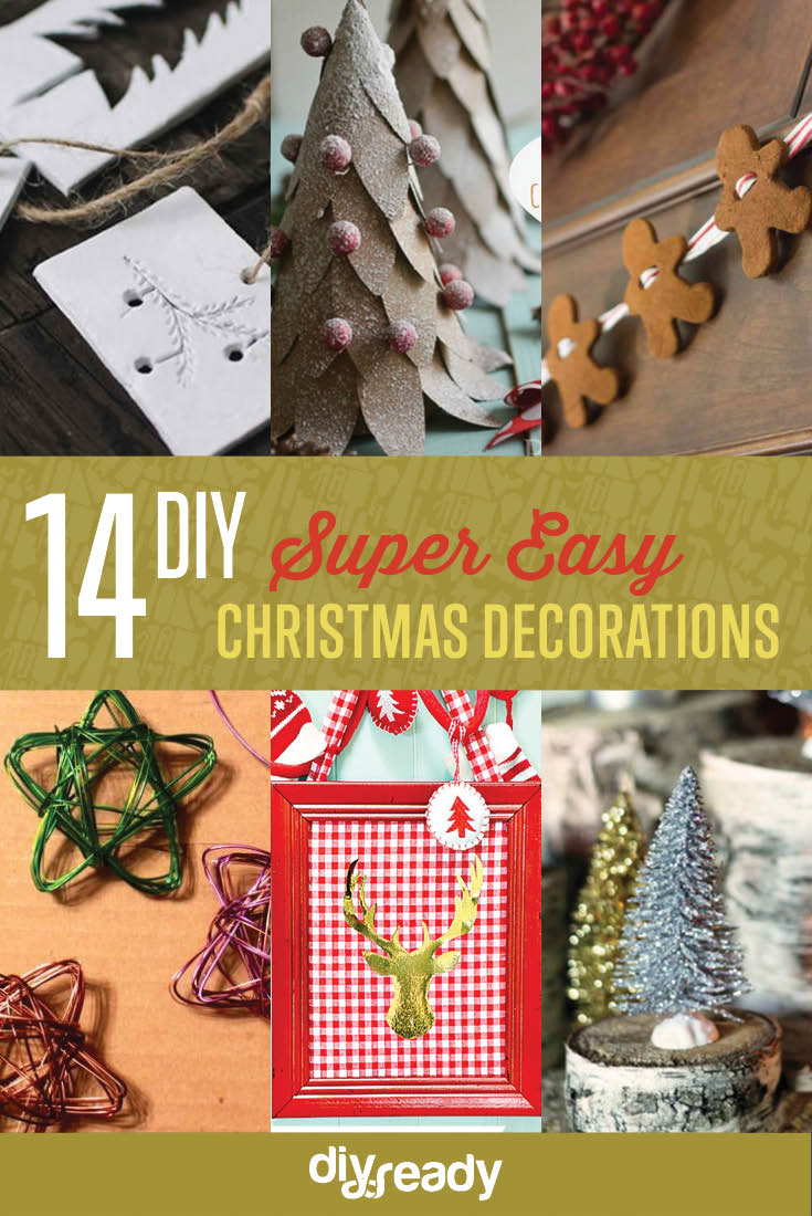 Best Easy Diy Christmas Decorations Diy Ready This Month