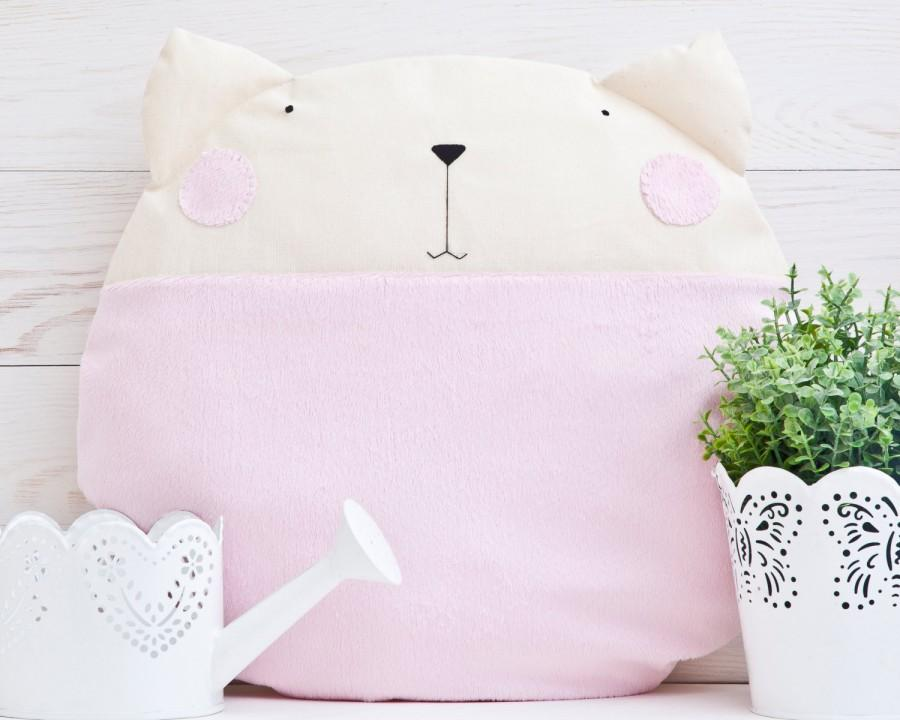 Best Round Pillow Pink Cat Decorative Pillows 2572125 Weddbook This Month