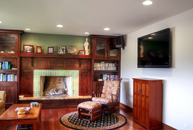 Best Mission Style Living Room Traditional Living Room This Month