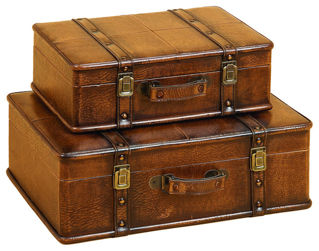Best Leather Decorative Trunk Cases And Storage Accent Decor 2 This Month