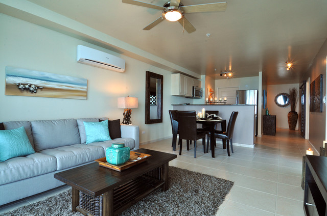 Best Beachfront Condo Design Tropical Living Room Other This Month