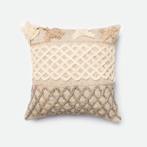 Best Beige And Brown 18 Inch Decorative Pillow Modern Bed This Month
