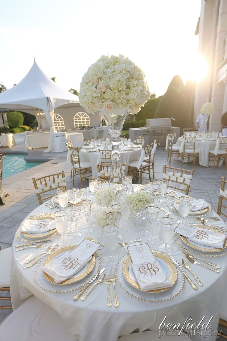 Best White And Gold Wedding Theme This Month