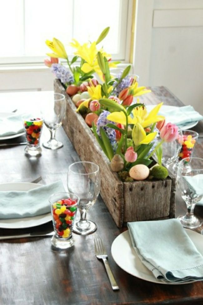 Best Easter Table Decorations Dishes Pinterest This Month