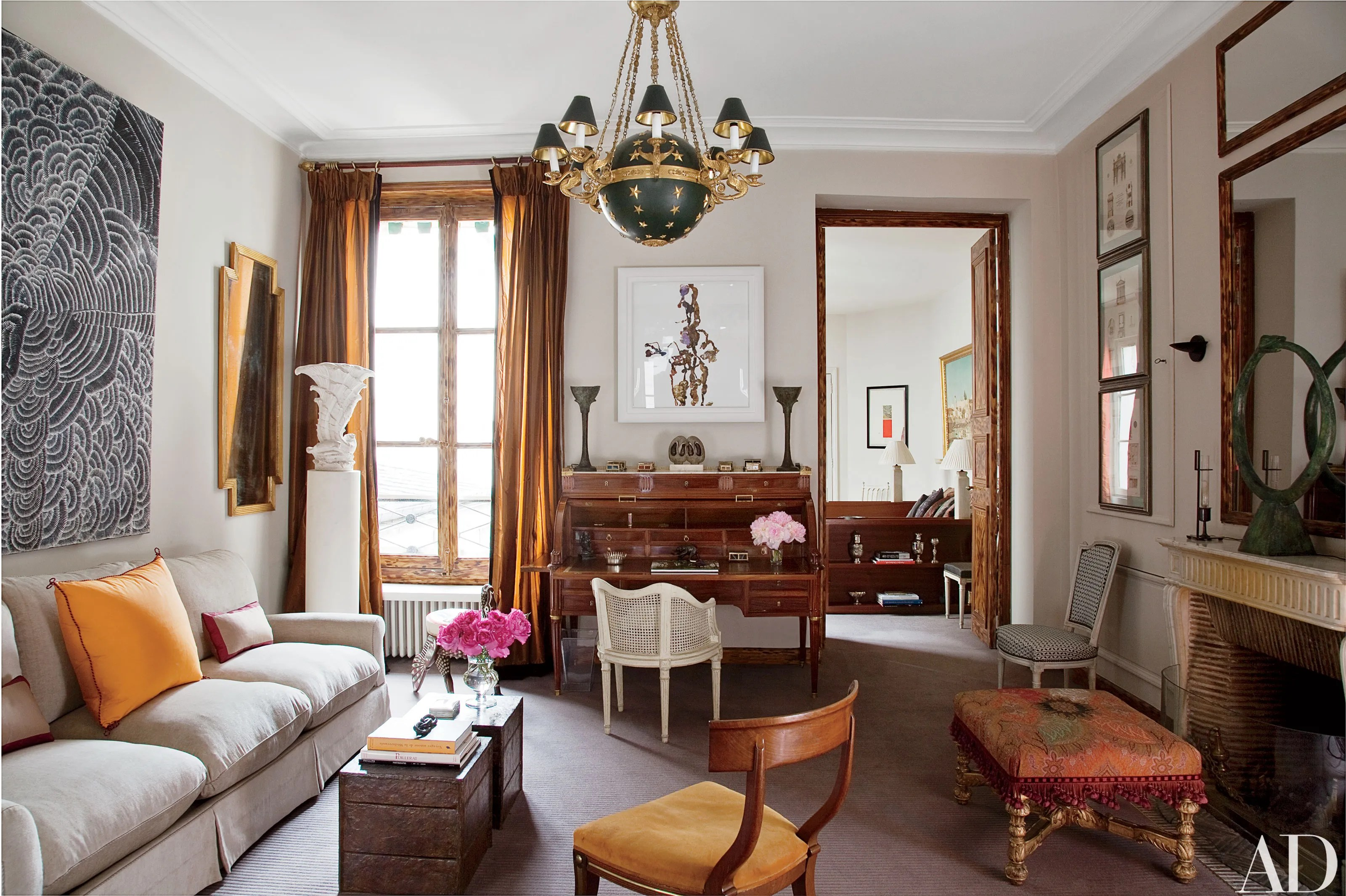 Best See How One Designer Turned His Paris Duplex Into An This Month