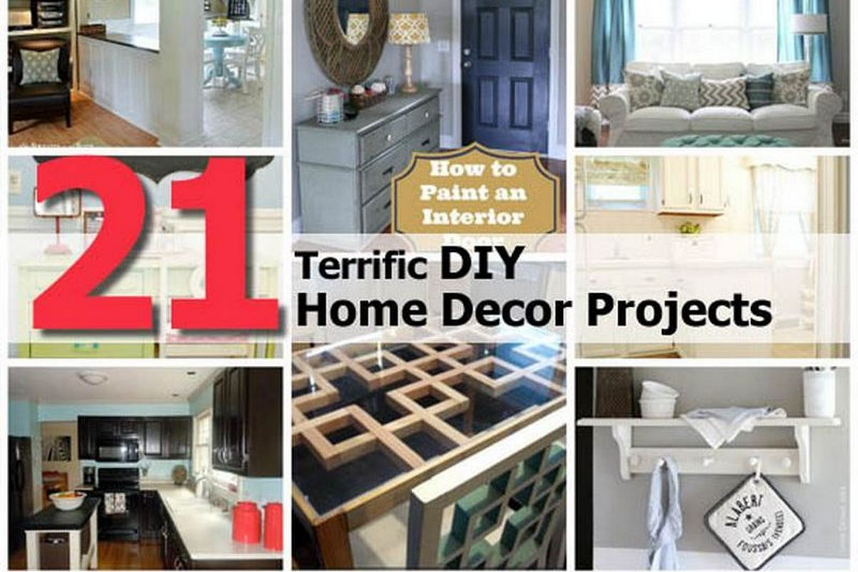 Best 21 Terrific Diy Home Decor Projects This Month