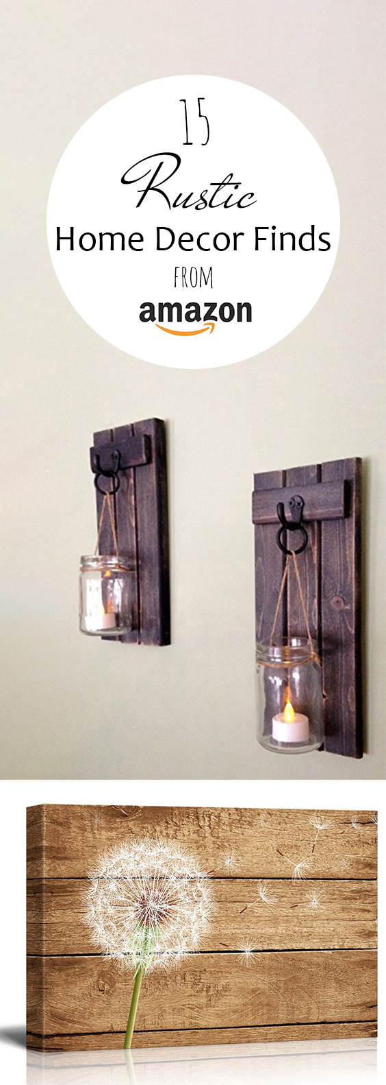Best 15 Rustic Home Decor Finds From Amazon – Page 20 Of 20 This Month