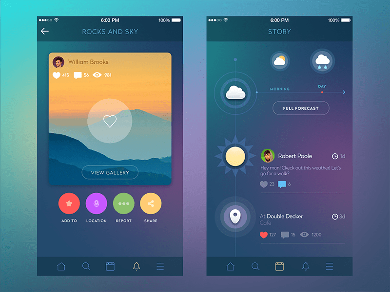 Best Mobile App Design 14 Trendy Color Schemes Adoriasoft This Month