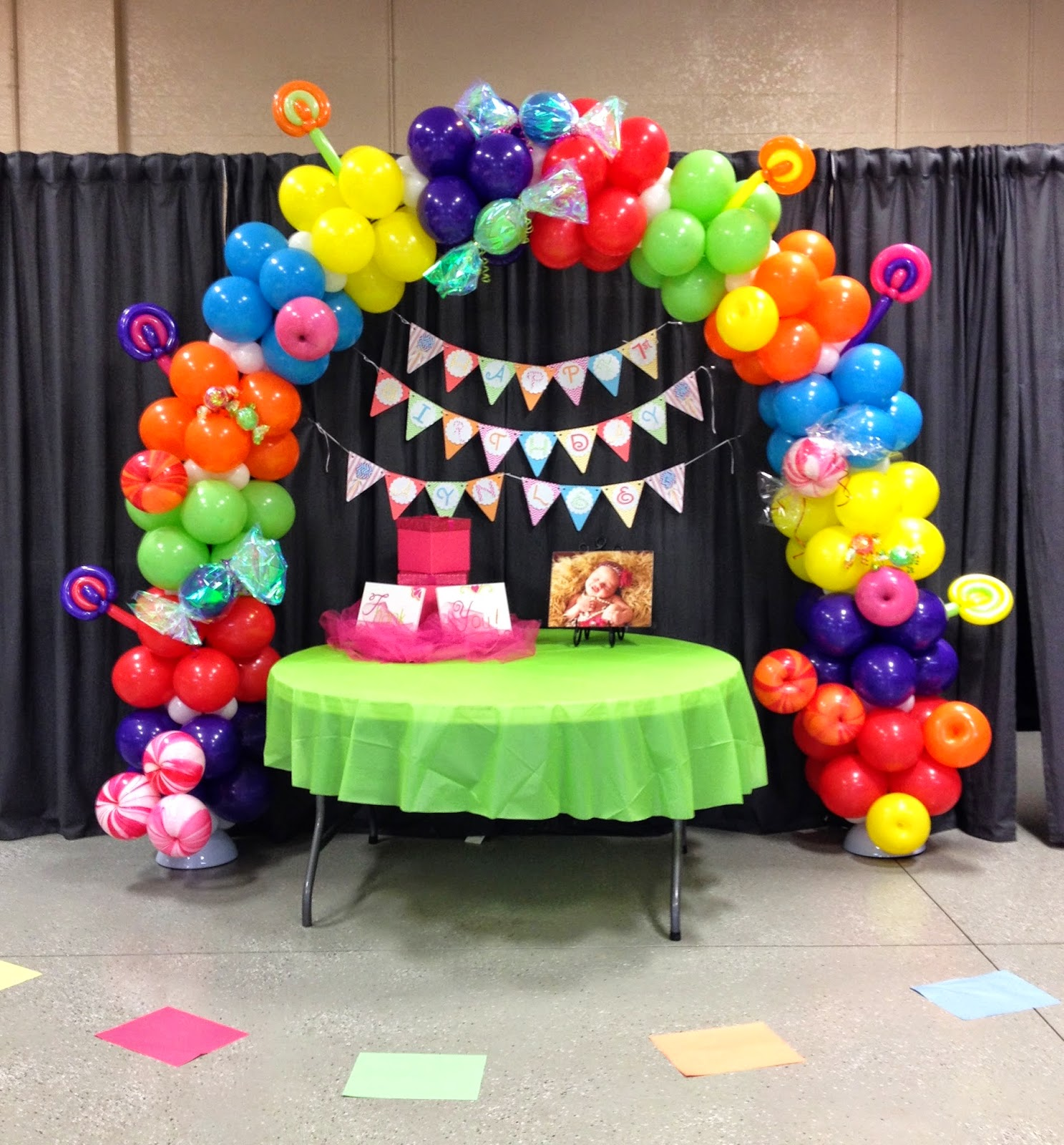 Best Party People Event Decorating Company Candyland Balloon Arch This Month
