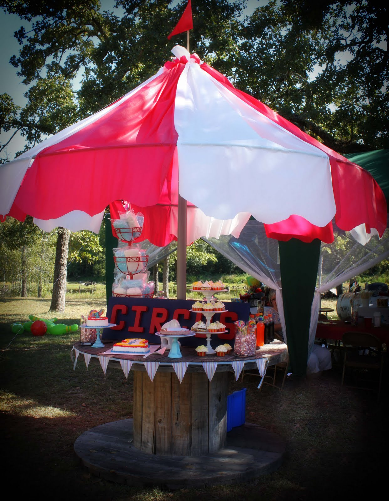 Best Diy Carnival Party Big Top Tent Southern Revivals This Month