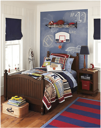 Best Young Boys Sports Bedroom Themes Home Decorating Ideas This Month
