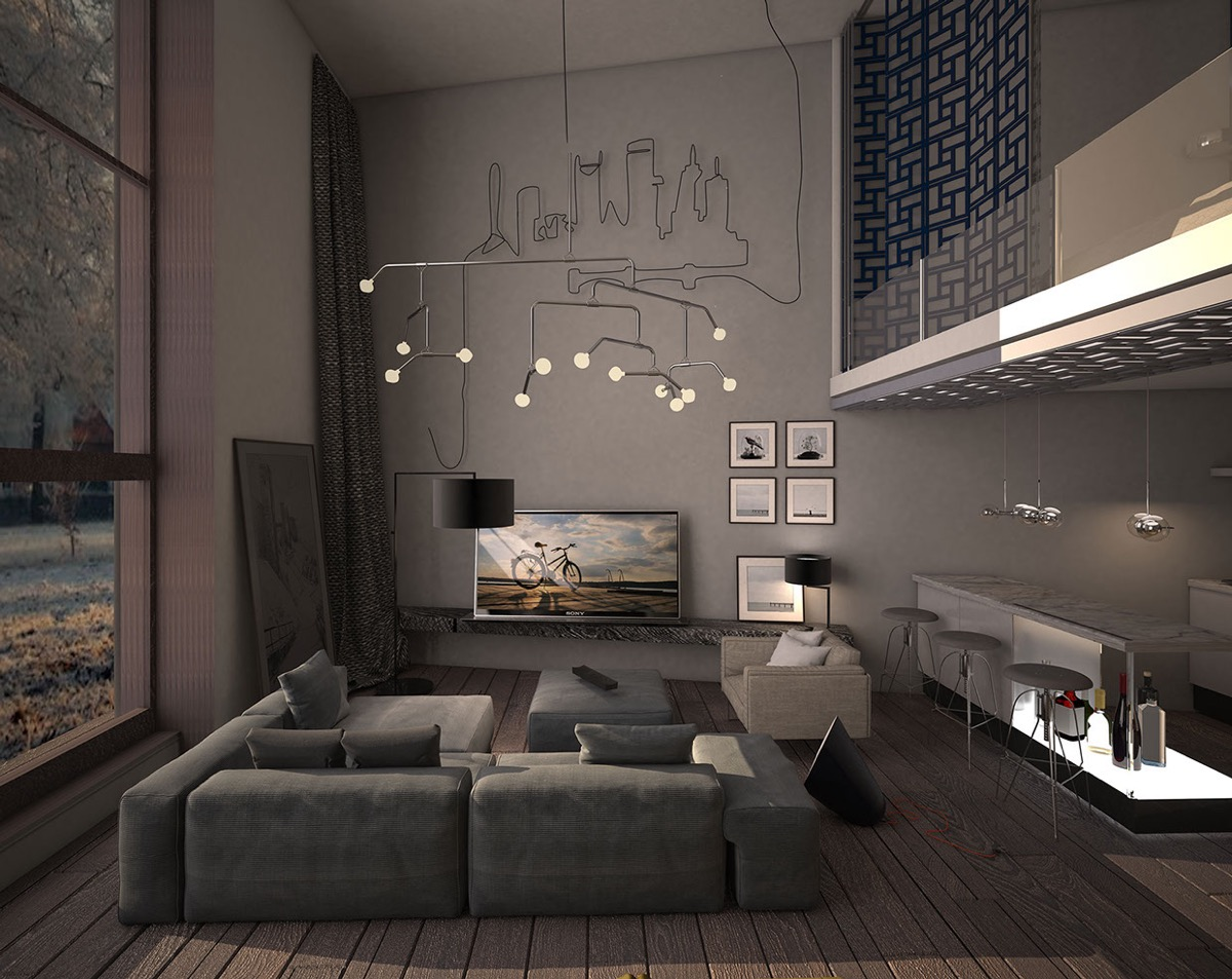 Best 15 Dark Living Room Decorating Ideas Roohome Designs This Month