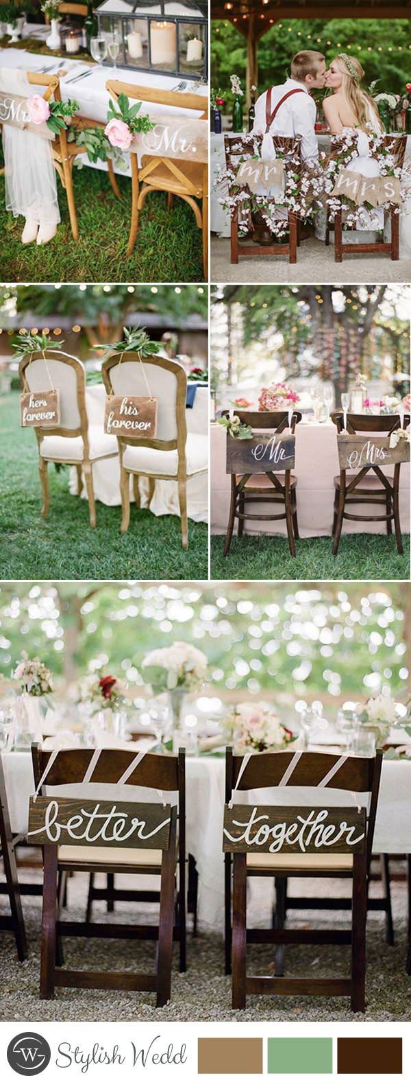 Best 50 Great Ways To Decorate Your Weddding Chair – Stylish This Month