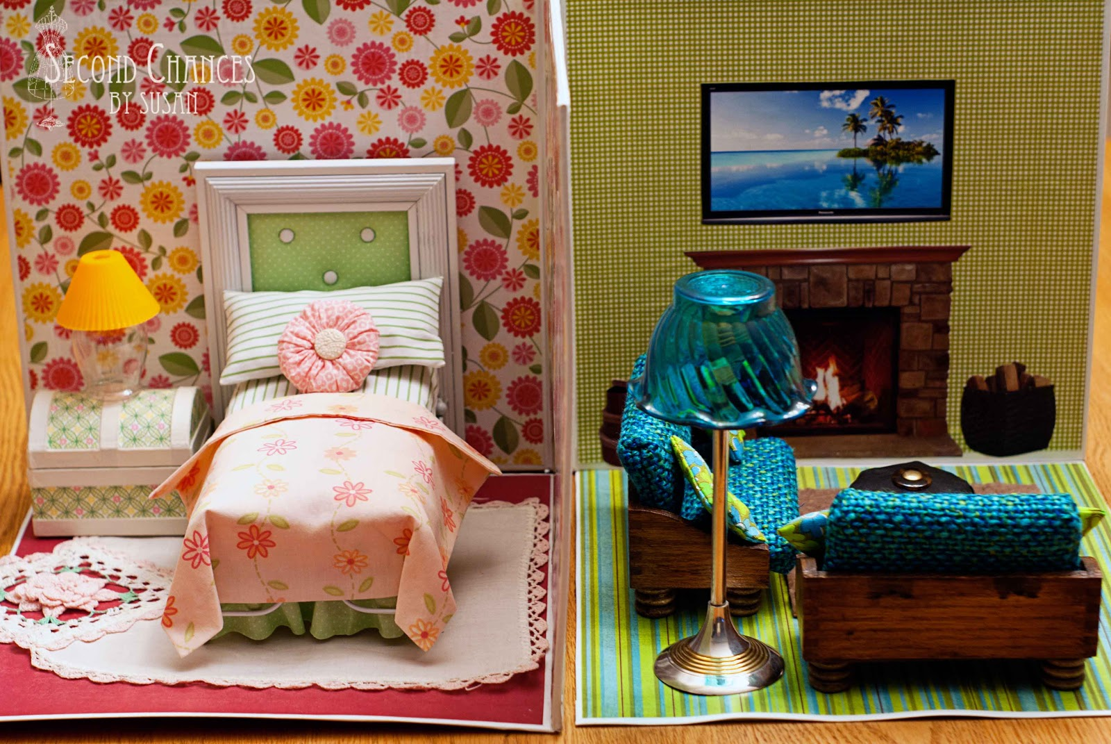 Best Second Chances By Susan Collapsible Dollhouse This Month