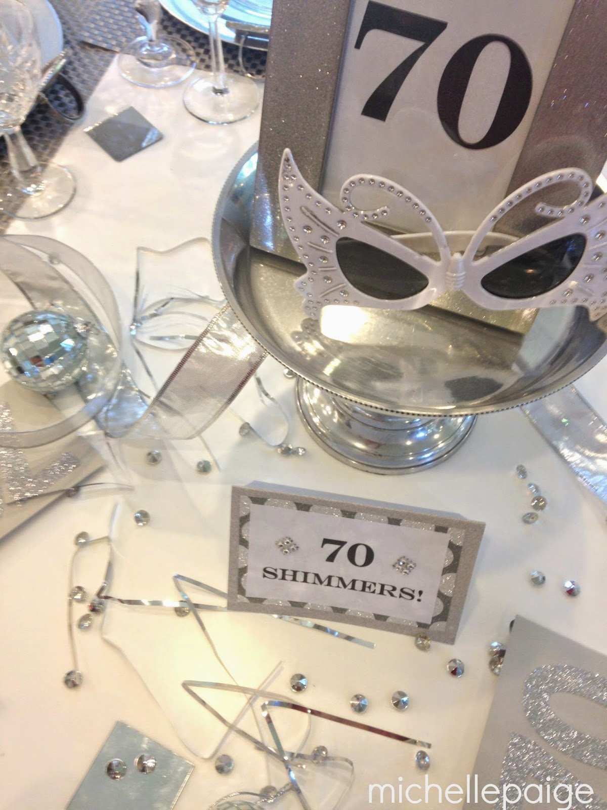 Best Michelle Paige Blogs A Sparkling 60Th Or 70Th Birthday This Month