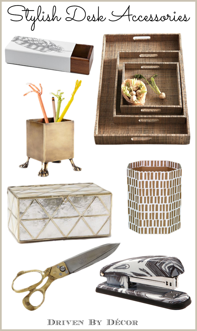 Best A Stylish Organized Desk Favorite Accessories Driven This Month