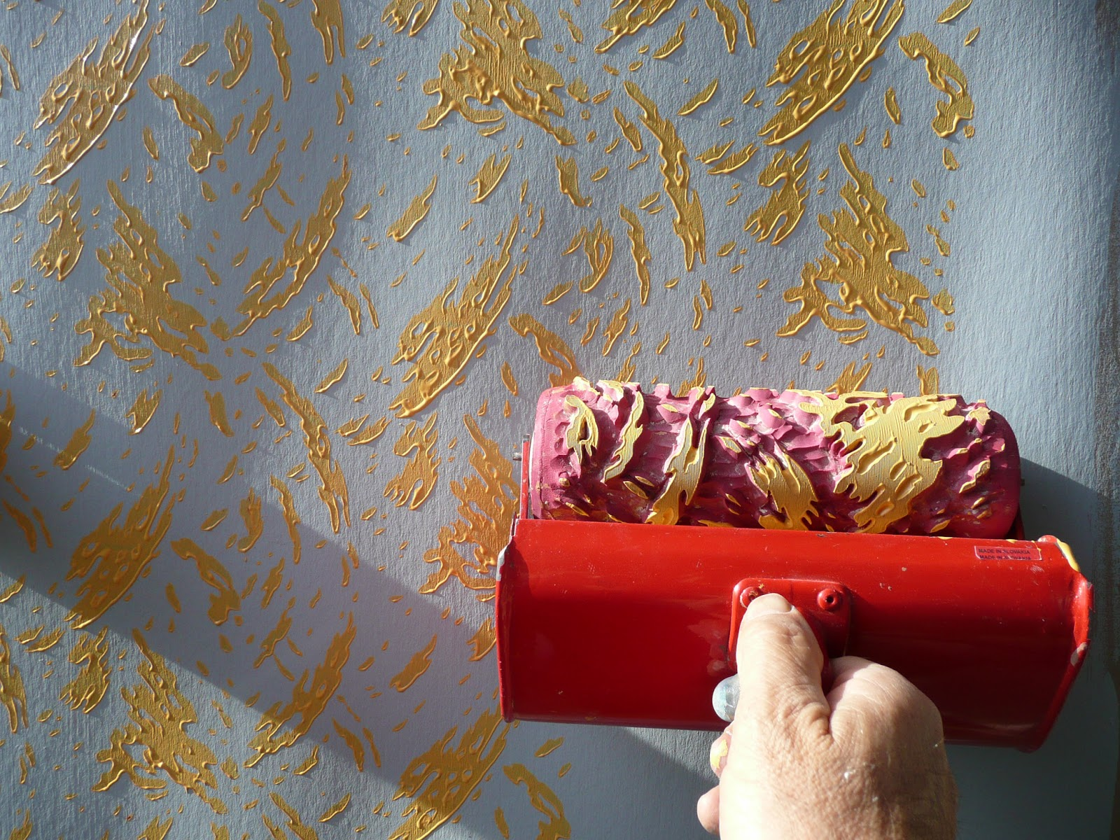 Best Decoroll A Painting Idea With Decorative Paint Rollers This Month