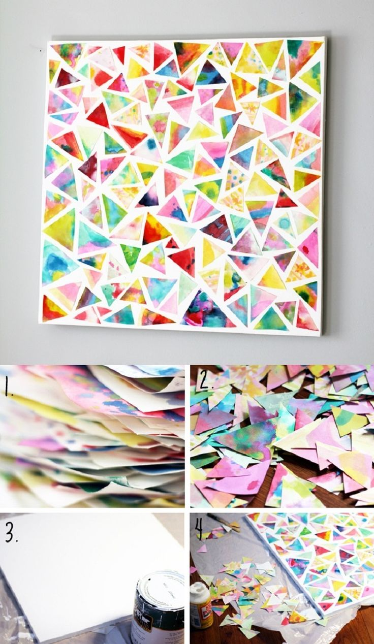 Best 46 Inventive Diy Wall Art Projects And Ideas For The Weekend This Month