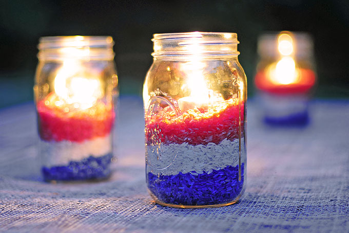 Best Easy Diy Red White And Blue Party Decoration She Wears This Month