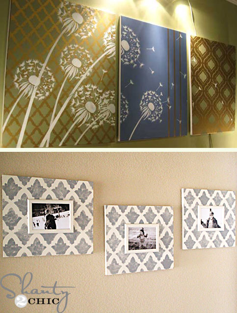 Best 10 Stunning Diy Home Decor Stencil Projects This Month