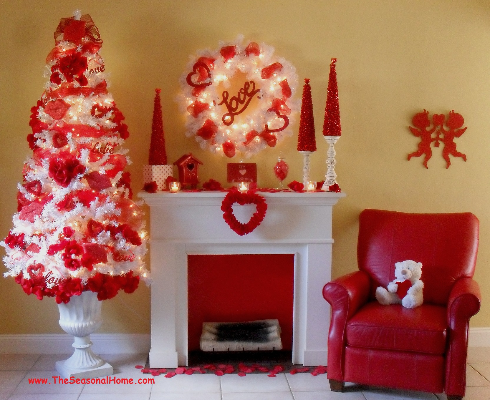 Best A Cozy Valentine's Day « The Seasonal Home This Month