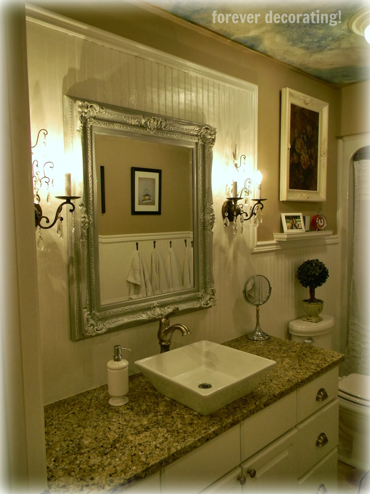 Best Forever Decorating Updated Guest Bathroom Reveal This Month