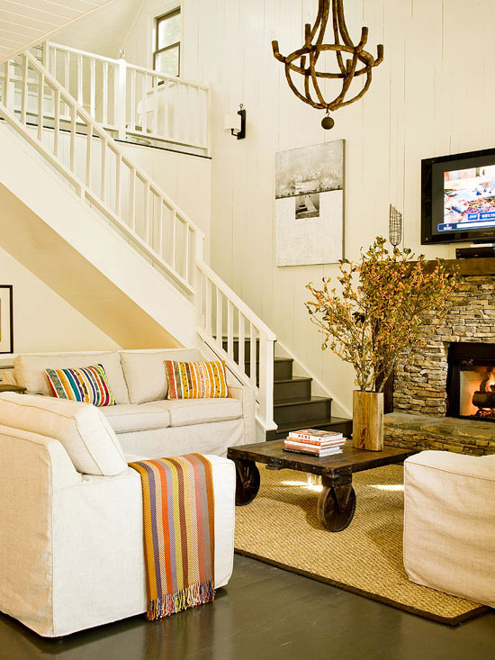 Best Modern Furniture 2013 Country Living Room Decorating This Month
