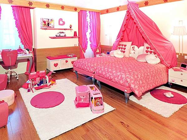 Best Make Your Life Colorful Cute Bedroom With Barbie Theme This Month