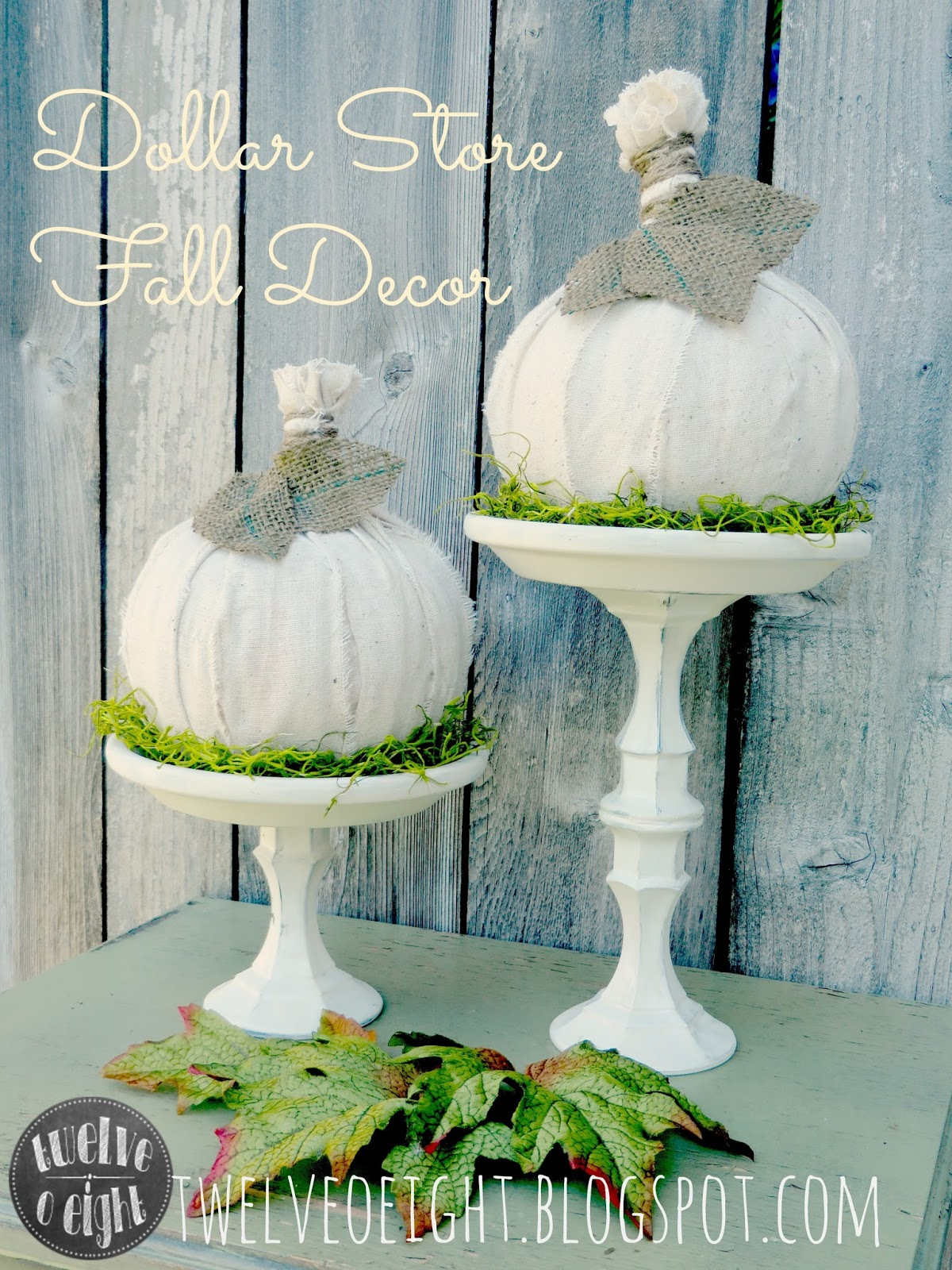 Best Dollar Store Fall Decor Pumpkins With Holders This Month