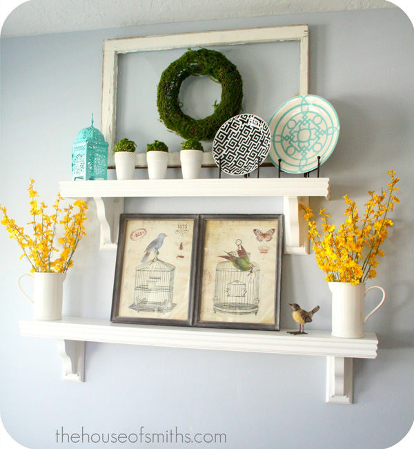Best Decorating Shelves Everyday Kitchen Shelf Decor This Month