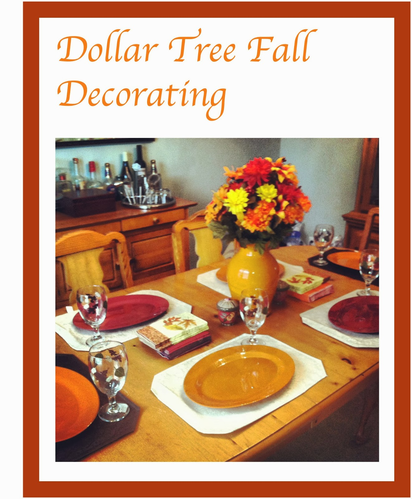 Best Polka Dots Pampers Dollar Tree Fall Decorating This Month