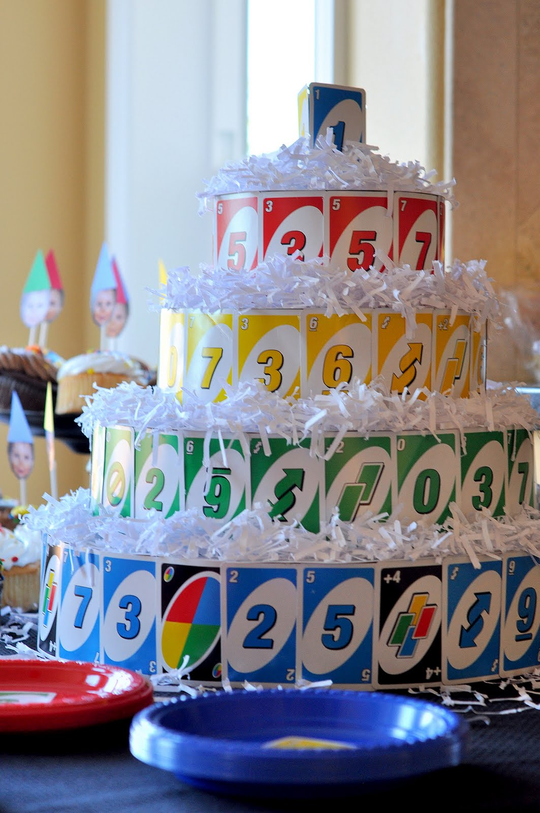Best Craftily Ever After Max S Uno Themed First Birthday Party This Month