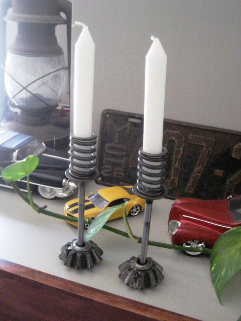 Best Flint Handmade Upcycling Love Spare Metal Car Parts Into This Month