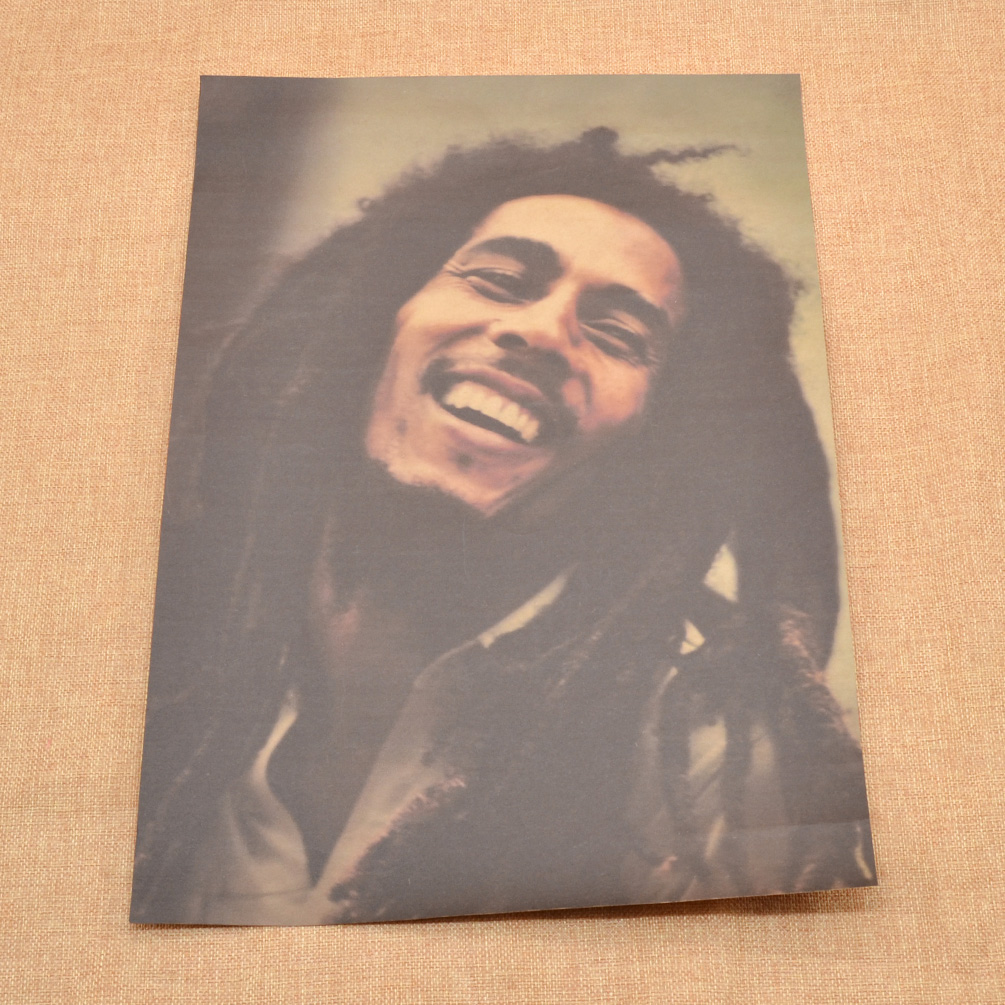 Best Reggae Singer Bob Marley Poster Home Room Wall Decor Fan This Month