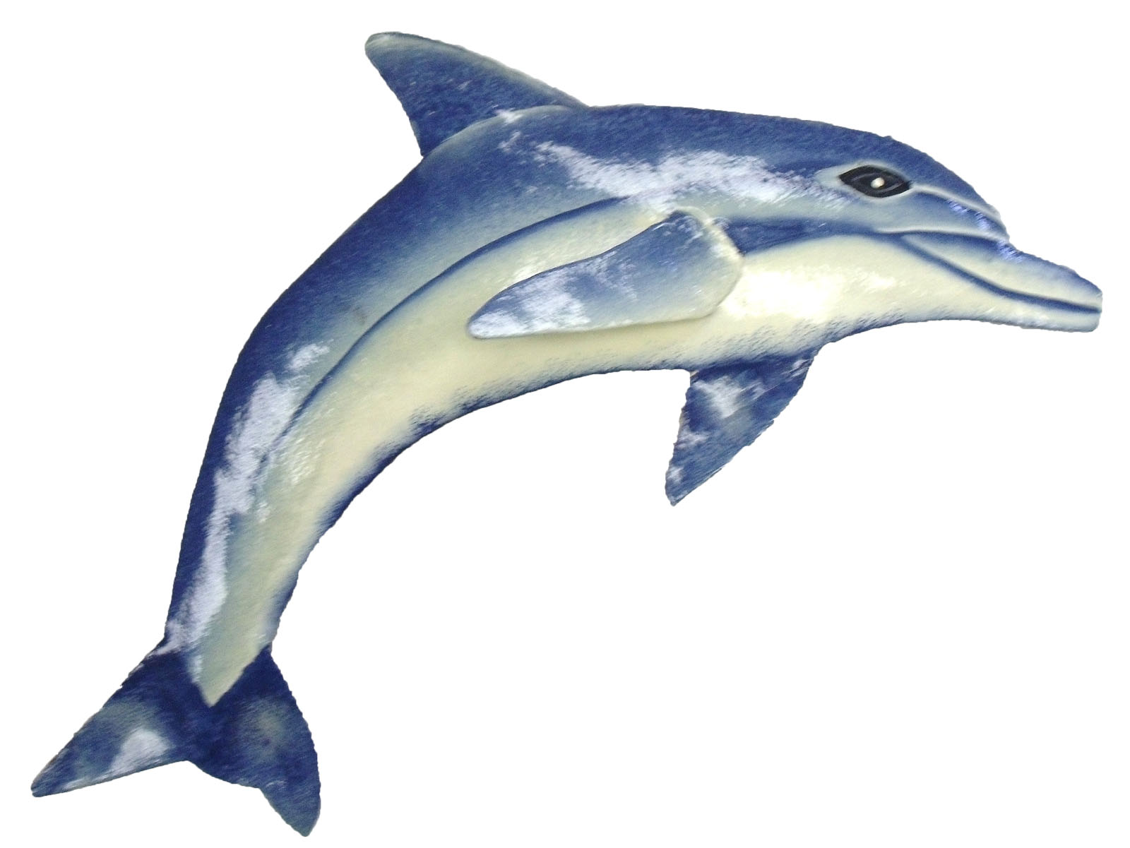 Best Tropical 13 Inch Dolphin Haitian Metal Wall Art Decor Ebay This Month