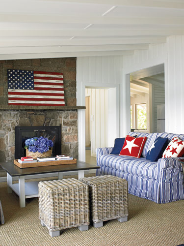 Best Red White And Blue Rooms This Month