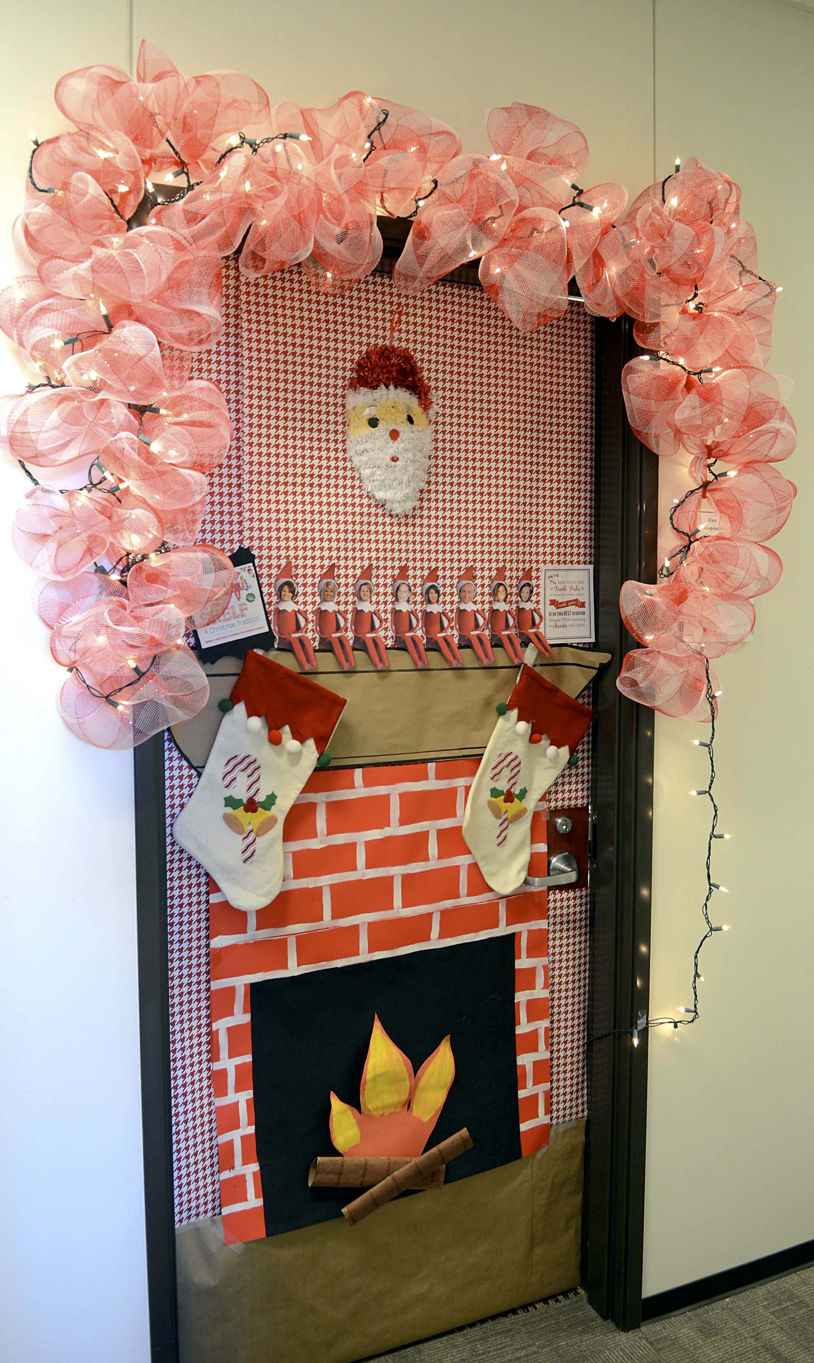 Best Door Decoration Contest Sparks New Tti Tradition — Texas A This Month