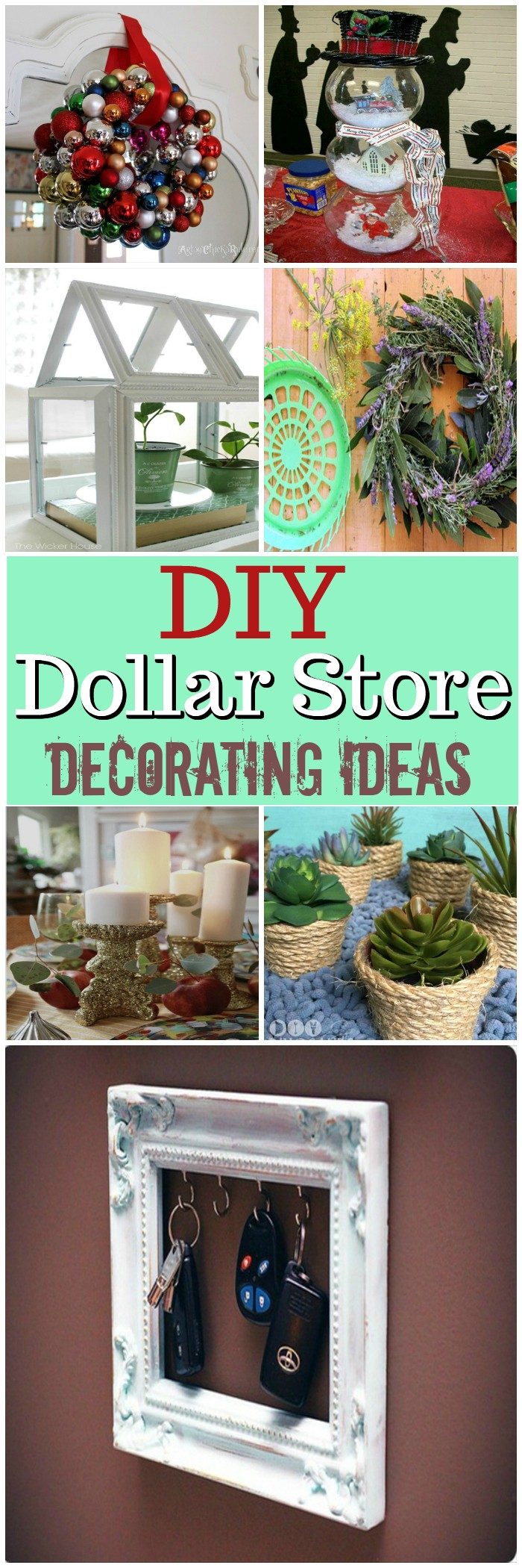Best Diy Dollar Store Decorating Ideas Diy Home Decor This Month