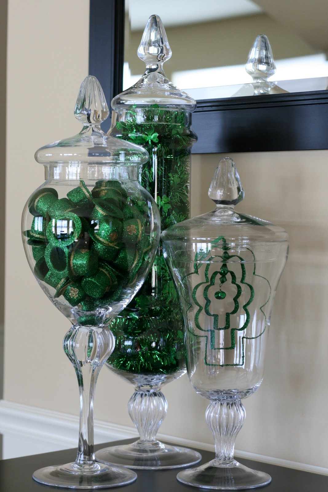 Best Creative Designs By Jen St Patrick S Day Apothecary Jars This Month
