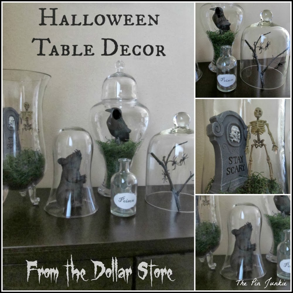 Best Dollar Store Halloween Decor Tablescape This Month