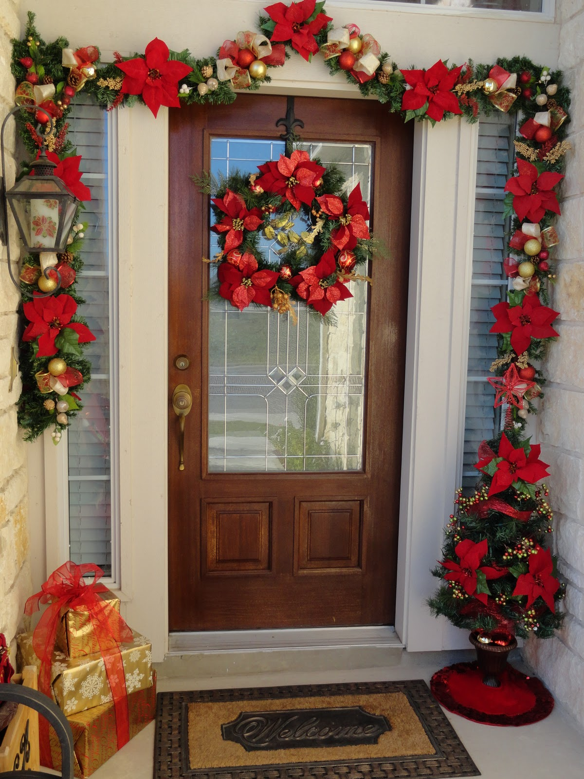 Best Our Home Away From Home Front Door Christmas Decor This Month