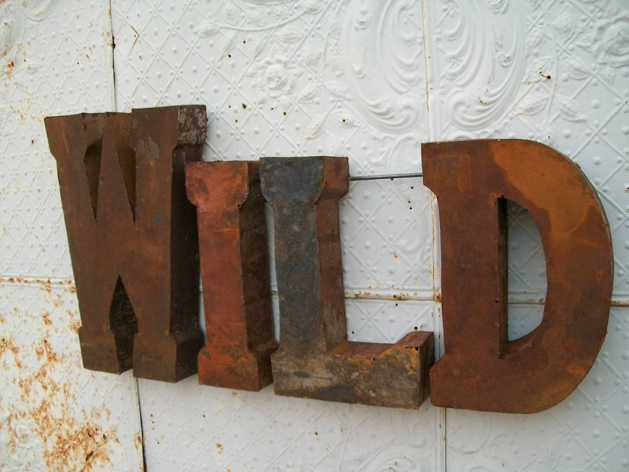 Best Rustic 37 3D Metal Wild Sign Trade Sign Indoor Or This Month