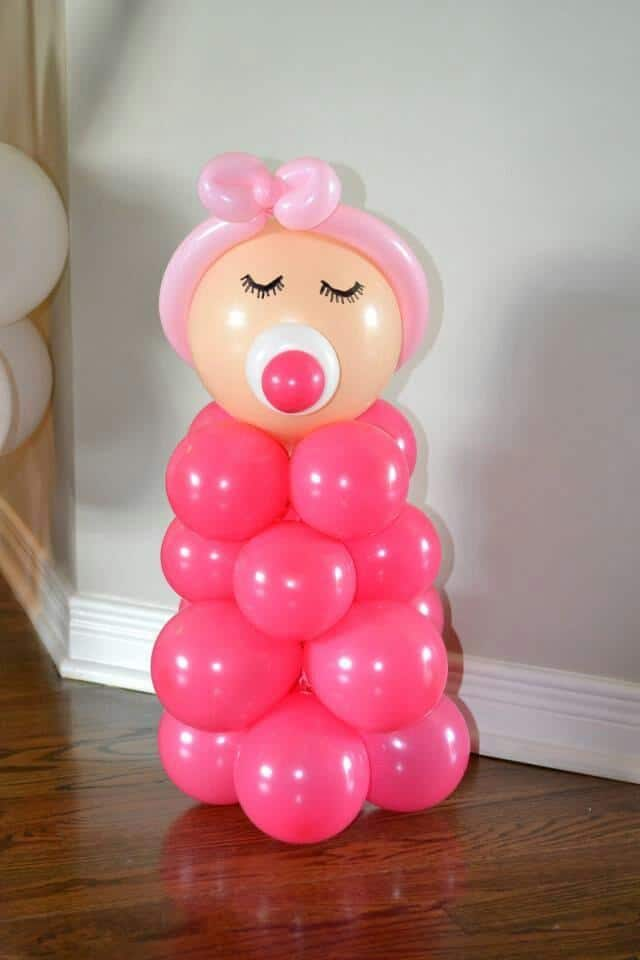 Best Balloon Decorations For A Girl Baby Shower Founterior This Month