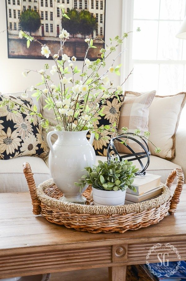 Best Spring Coffee Table Decor See How They Did It This Month