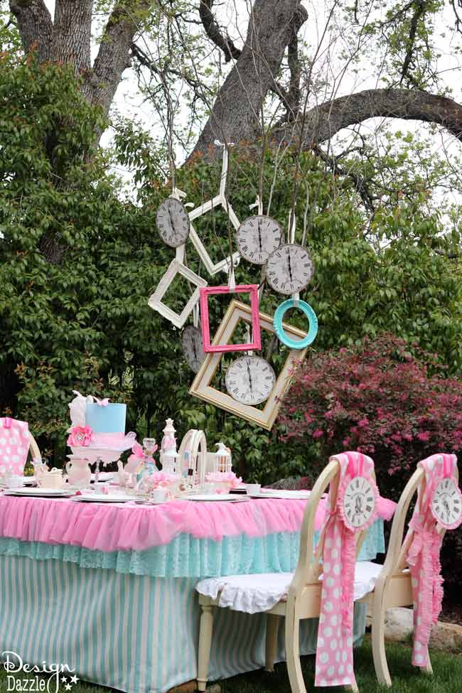 Best Vintage Glam Alice In Wonderland Party Design Dazzle This Month