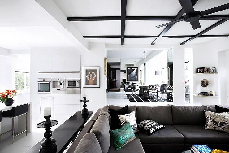 Best House Tour This Stunning Home Was Created With Only Black This Month