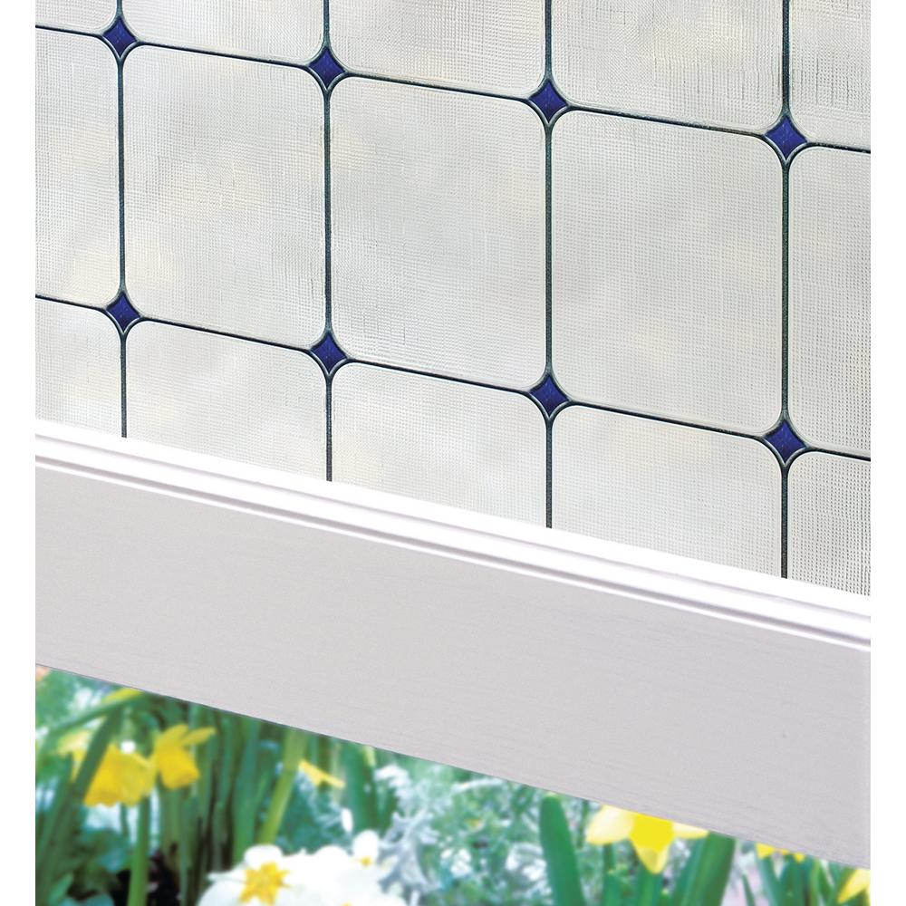 Best Artscape 24 In W X 36 In H Sapphire Decorative Window This Month